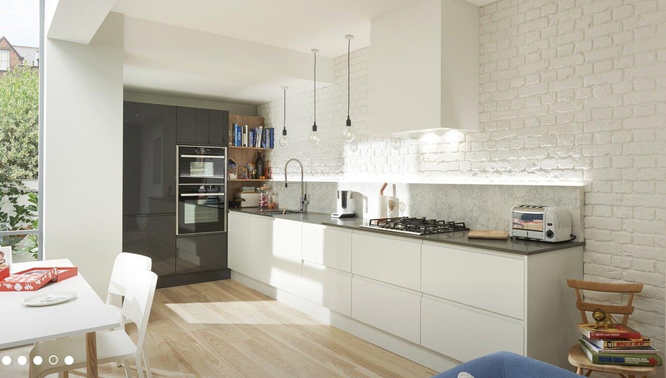 Kitchen Designs Remo Matt Porcelain Superior Cabinets